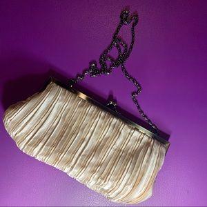 Handbags - Silky Champagne Colored Purse